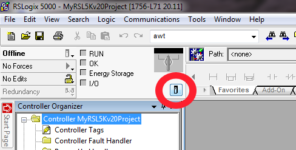 RSL5K Launch Button For Controller Properties