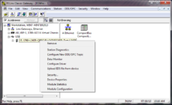 RSLinx USB Driver - Right Click on L24 to Configure