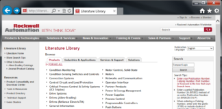 Rockwell Automation Literature Library Homepage