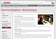 Automation Fair Demonstration Workshops Page