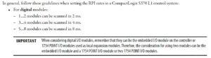 1769-L1 RPI Limits from 1769-TD005