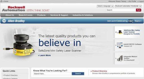 AB.com Homepage