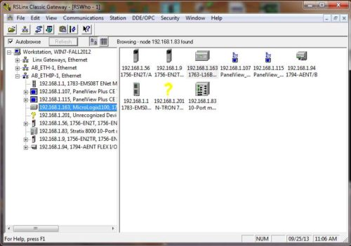 RSLinx Classic Topic for Excel 1