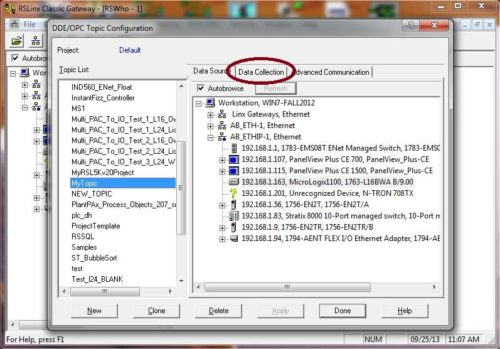 RSLinx Classic Topic for Excel 5
