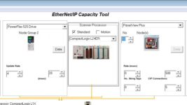 Using the EthernetIP Capacity Tool 14