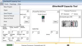 Using the EthernetIP Capacity Tool 19