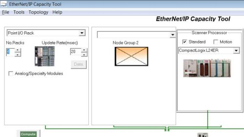 Using the EthernetIP Capacity Tool 5