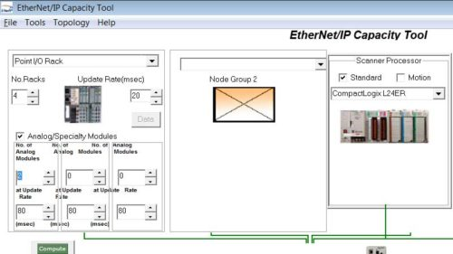 Using the EthernetIP Capacity Tool 6