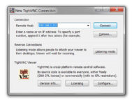 2 TightVNC viewer aka PC Client