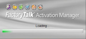 FactoryTalk Activation Splash