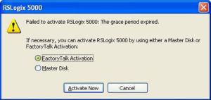 Rockwell Software Grace Period Mode Popup 3
