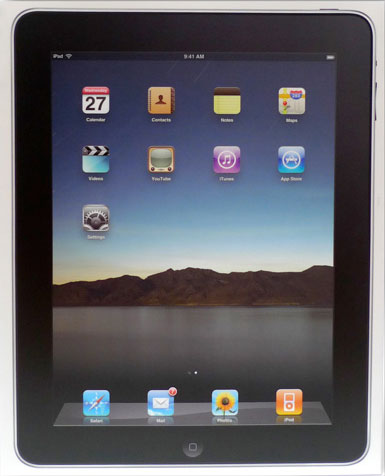 Apple iPad Box Shot