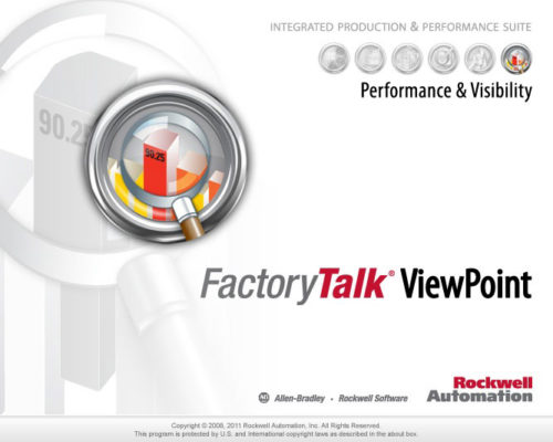 FactoryTalk ViewPoint Splash