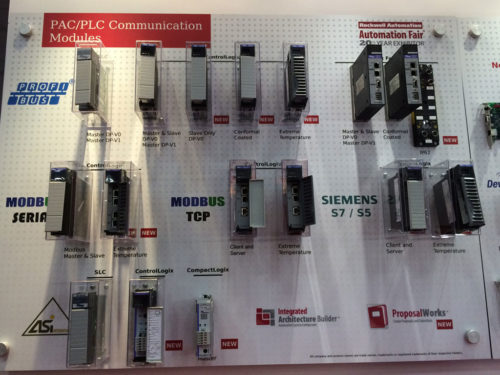 Molex booth at Automation Fair 2013