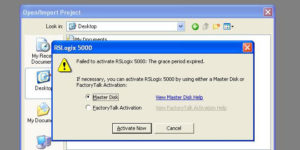 RSLogix 5000 Failed To Activate Featured Image