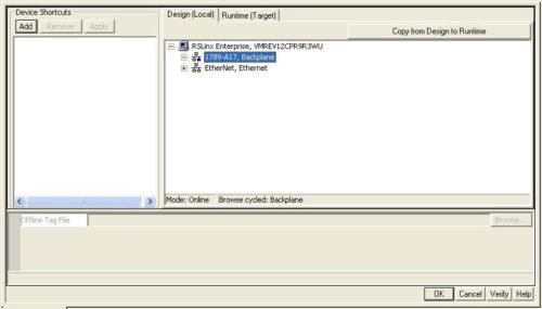 RSLinx Enterprise does not find SoftLogix processor