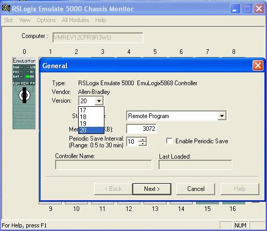 SoftLogix 5800 add processor to slot 0