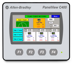 """PanelView Component 4"""" 2711C-T4T"""