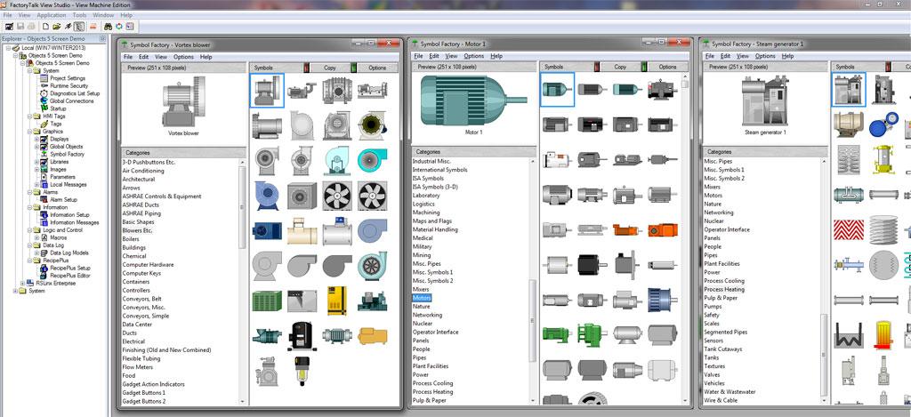 ViewStudio Symbol Factory
