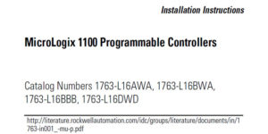 MicroLogix-1100-Installation-Instructions-Fi