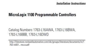 MicroLogix-1100-Installation-Instructions-Fi