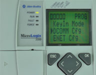 MicroLogix-1100-LCD-Advanced-Menu-DCOMM-Selected