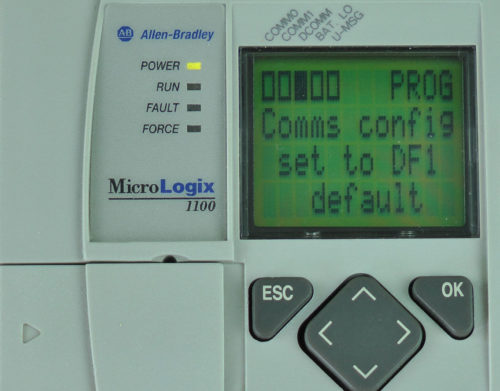 MicroLogix-1100-LCD-DCOMM-Menu-Enable-Message