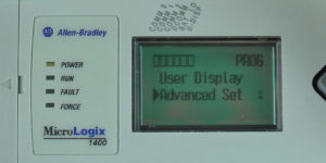 MicroLogix-1400-LCD-Main-Menu-Advanced-Sel