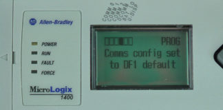 MicroLogix-1400-LCD-DCOMM-Menu-Enable-Conf