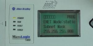 MicroLogix-1400-LCD-ENETcfg-Menu-IP-Static-SN-Entry-1