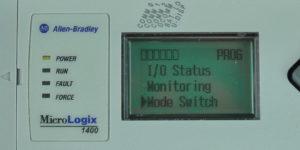 MicroLogix-1400-LCD-Main-Menu-Mode-Sel