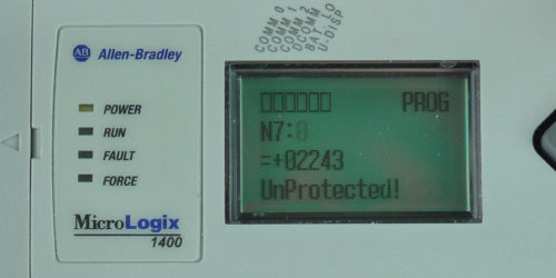 MicroLogix-1400-LCD-Monitor-Menu-N7-0-Set