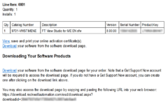 Rockwell Software Order Email 2