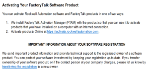 Rockwell Software Order Email 3