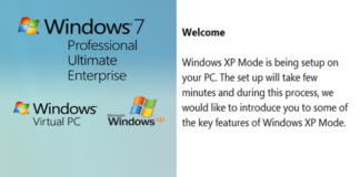 Windows XP Mode 15-Fi