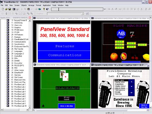 PanelView Demo Compilation
