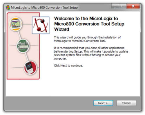 MicroLogix to Micro800 Install 2