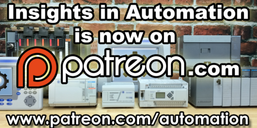 Insights In Automation now on Patreon