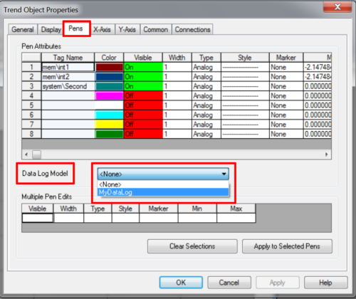 Make PanelView Plus Trend Historical 16