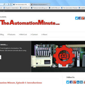 Episode 02 from Season 1 of The Automation Minute
